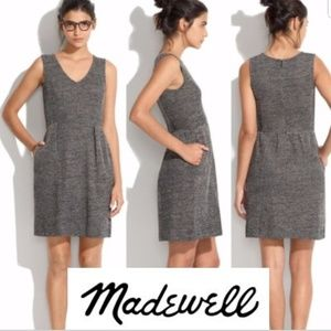 Madewell marled sweater terrace dress L